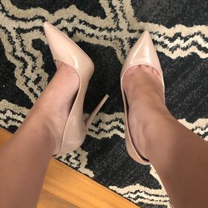 Aldo rose gold heels